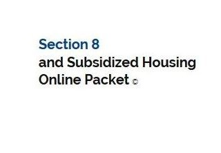Housing programs - Apply online for section 8